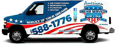 For your furnace replacement in Wasko, CA, American Dream Services has service trucks ready!